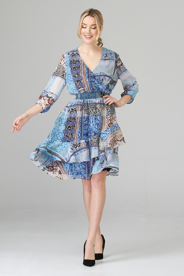 Joseph Ribkoff Multi Dresses Style 201493