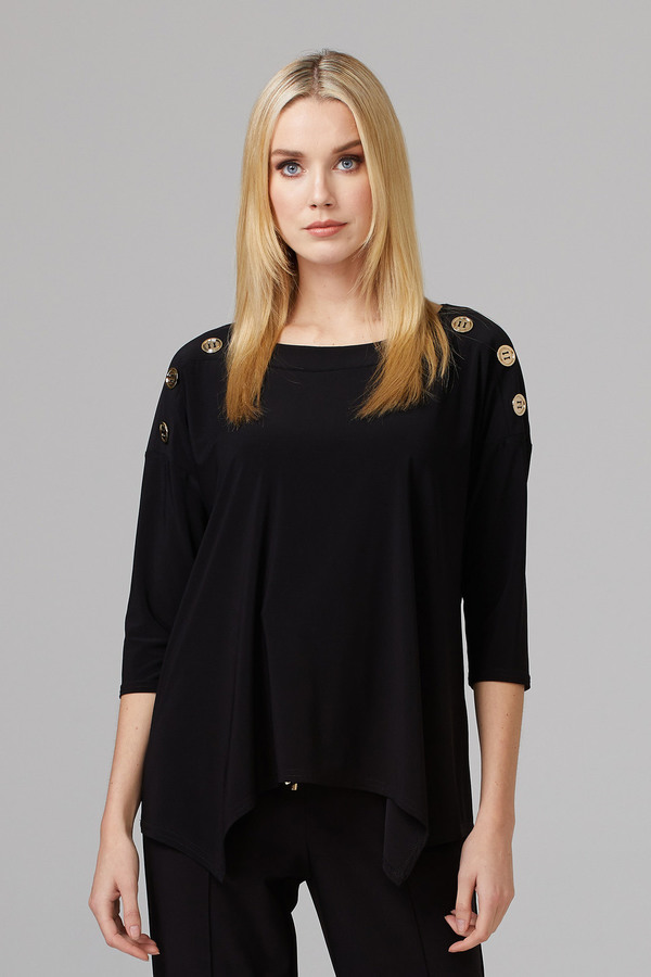Joseph Ribkoff Tee-shirts et camisoles Noir Style 201497