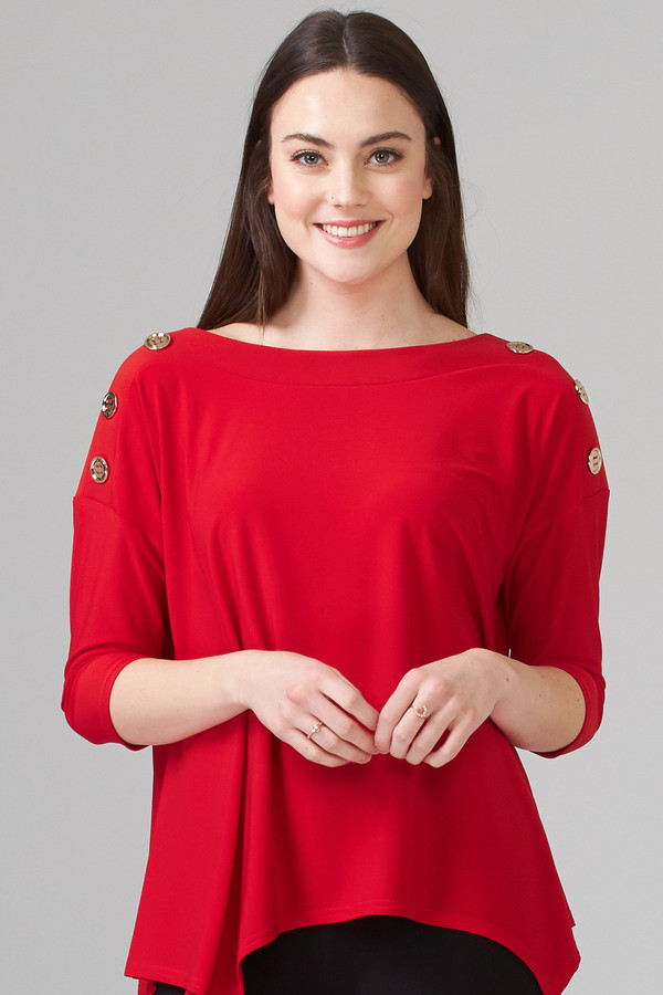 Joseph Ribkoff Tee-shirts et camisoles Rouge A Levres 173 Style 201497