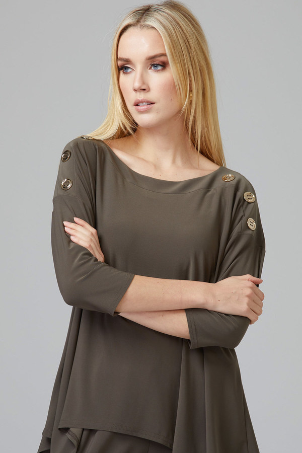 Joseph Ribkoff Tee-shirts et camisoles Avocat 183 Style 201497