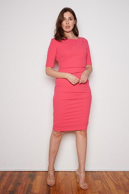 Joseph Ribkoff HYPER PINK Dresses Style 201500