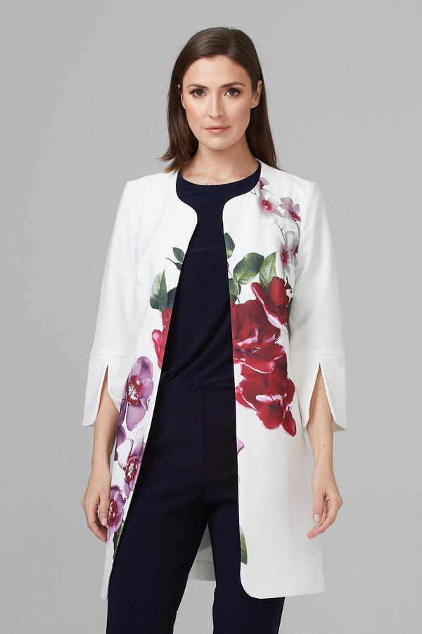 Joseph Ribkoff Vanilla/Multi Jackets Style 201501