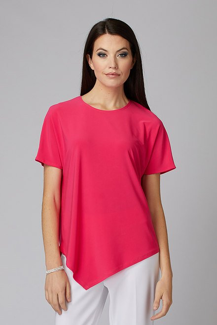 Joseph Ribkoff HYPER PINK Tees & Camis Style 201509