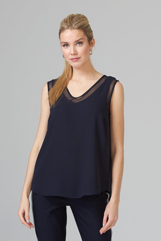 Joseph Ribkoff Midnight Blue 40 Tees & Camis Style 201513