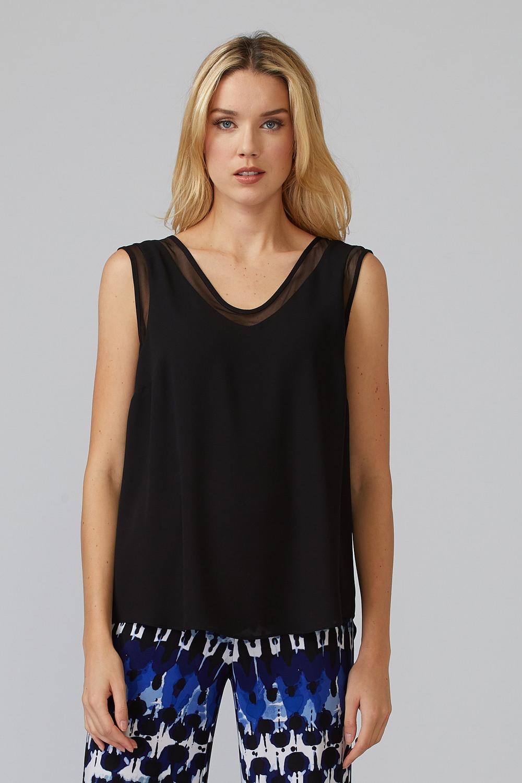 Joseph Ribkoff Black Tees & Camis Style 201513