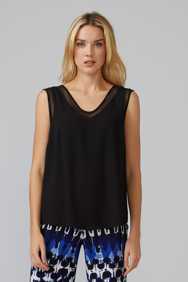 Joseph Ribkoff Tee-shirts et camisoles Noir Style 201513