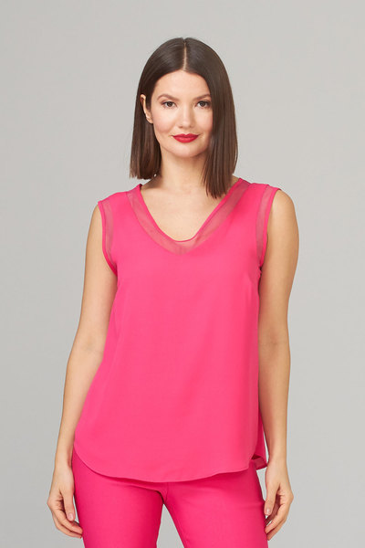 Joseph Ribkoff HYPER PINK Tees & Camis Style 201513