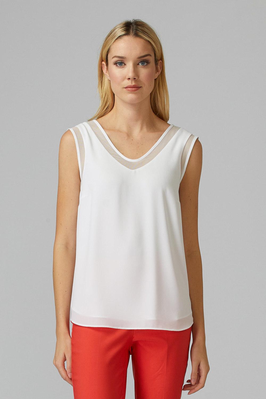 Joseph Ribkoff Off-white Tees & Camis Style 201513