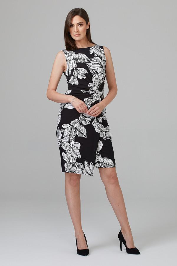 Joseph Ribkoff Robes Noir/Blanc Style 201519