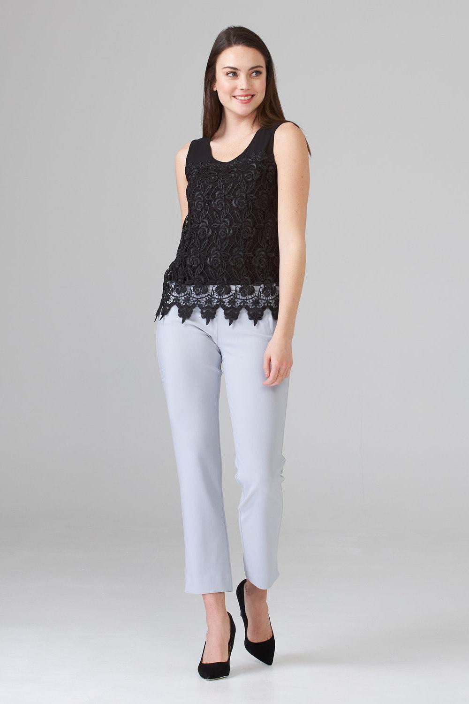 Joseph Ribkoff Pantalons Gris Givré 193 Style 201521