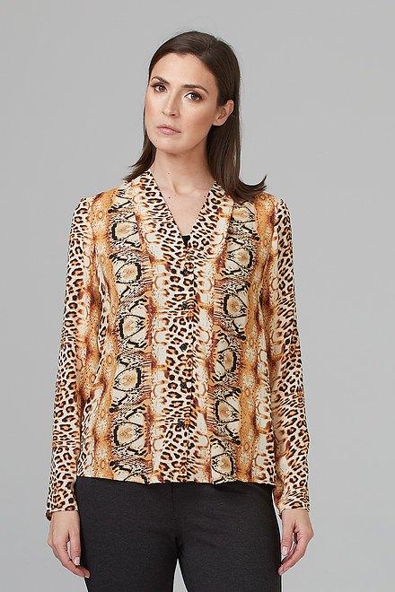 Joseph Ribkoff Gold/Black Shirts & Blouses Style 201522