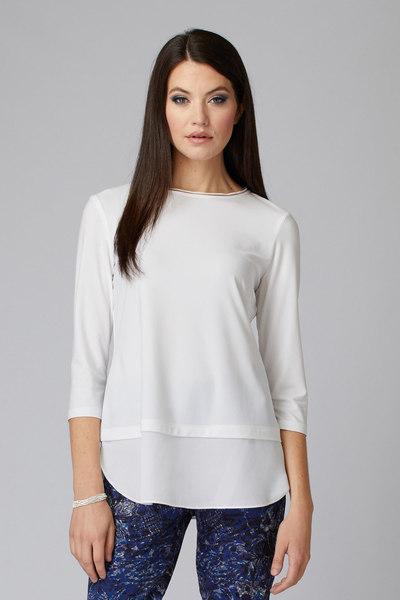 Joseph Ribkoff Tee-shirts et camisoles Vanille 30 Style 201534