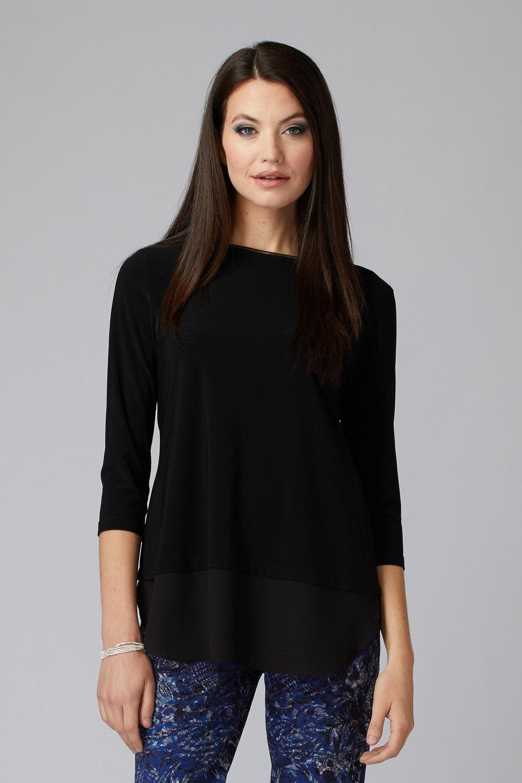 Joseph Ribkoff Tee-shirts et camisoles Noir Style 201534
