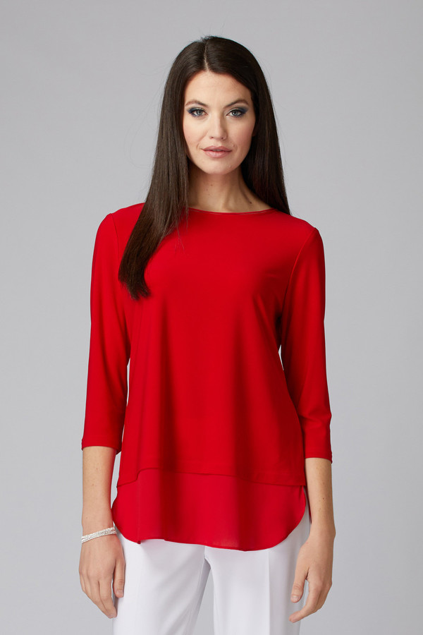 Joseph Ribkoff Tee-shirts et camisoles Rouge A Levres 173 Style 201534