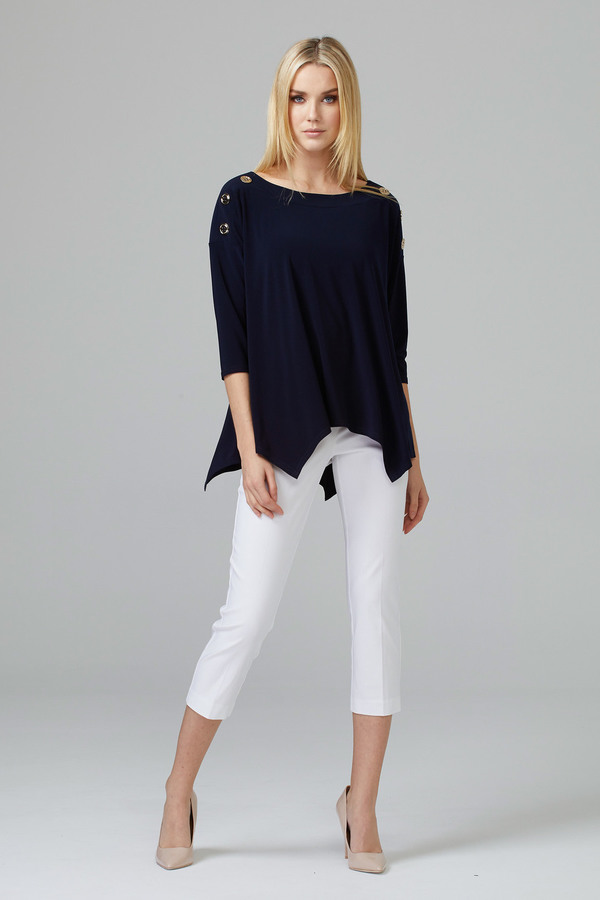Joseph Ribkoff White Pants Style 201536