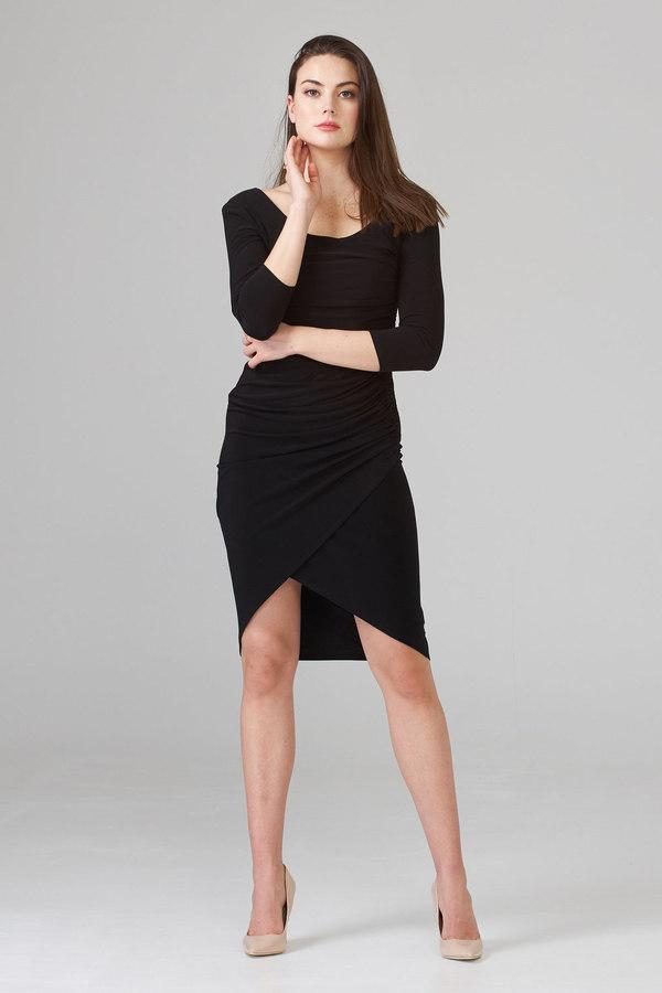 Joseph Ribkoff Black Dresses Style 201537