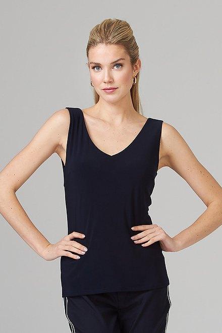 Joseph Ribkoff Midnight Blue 40 Tees & Camis Style 201546