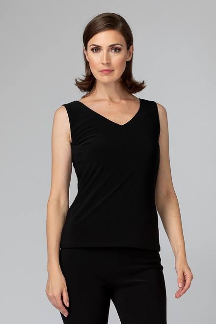 Joseph Ribkoff Tee-shirts et camisoles Noir Style 201546