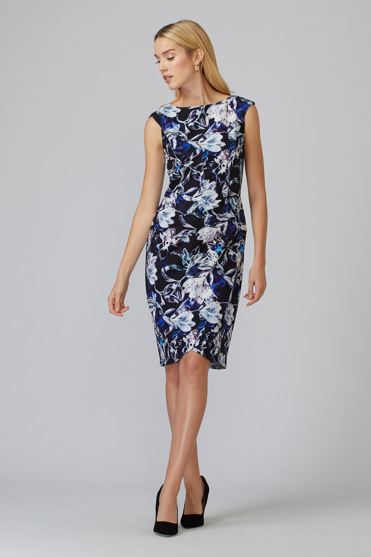 Joseph Ribkoff Black/Multi Dresses Style 201639