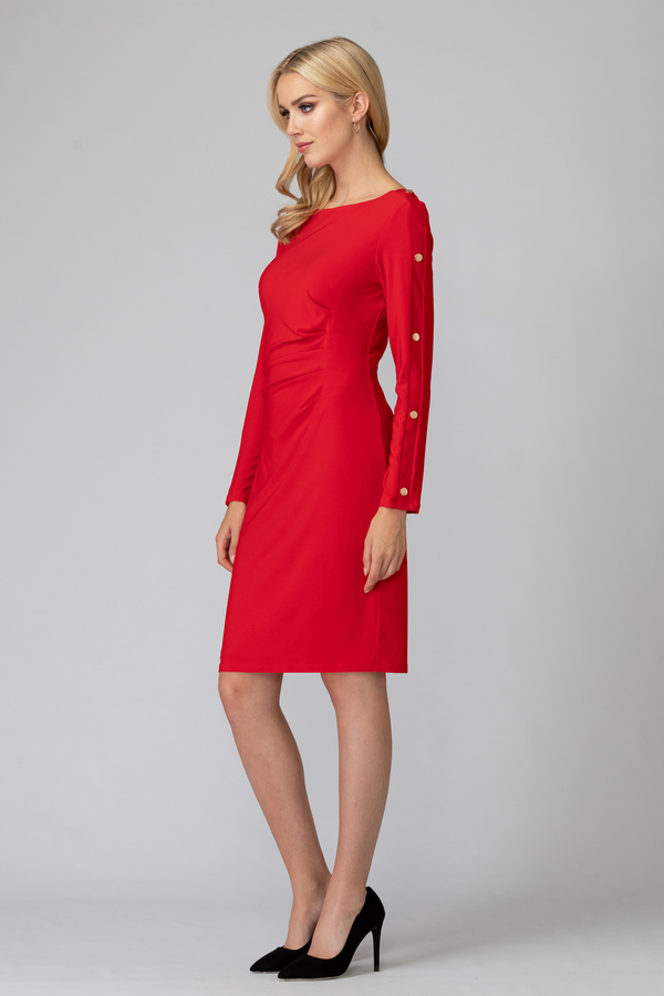 Joseph Ribkoff Robes Rouge A Levres 173 Style 194010