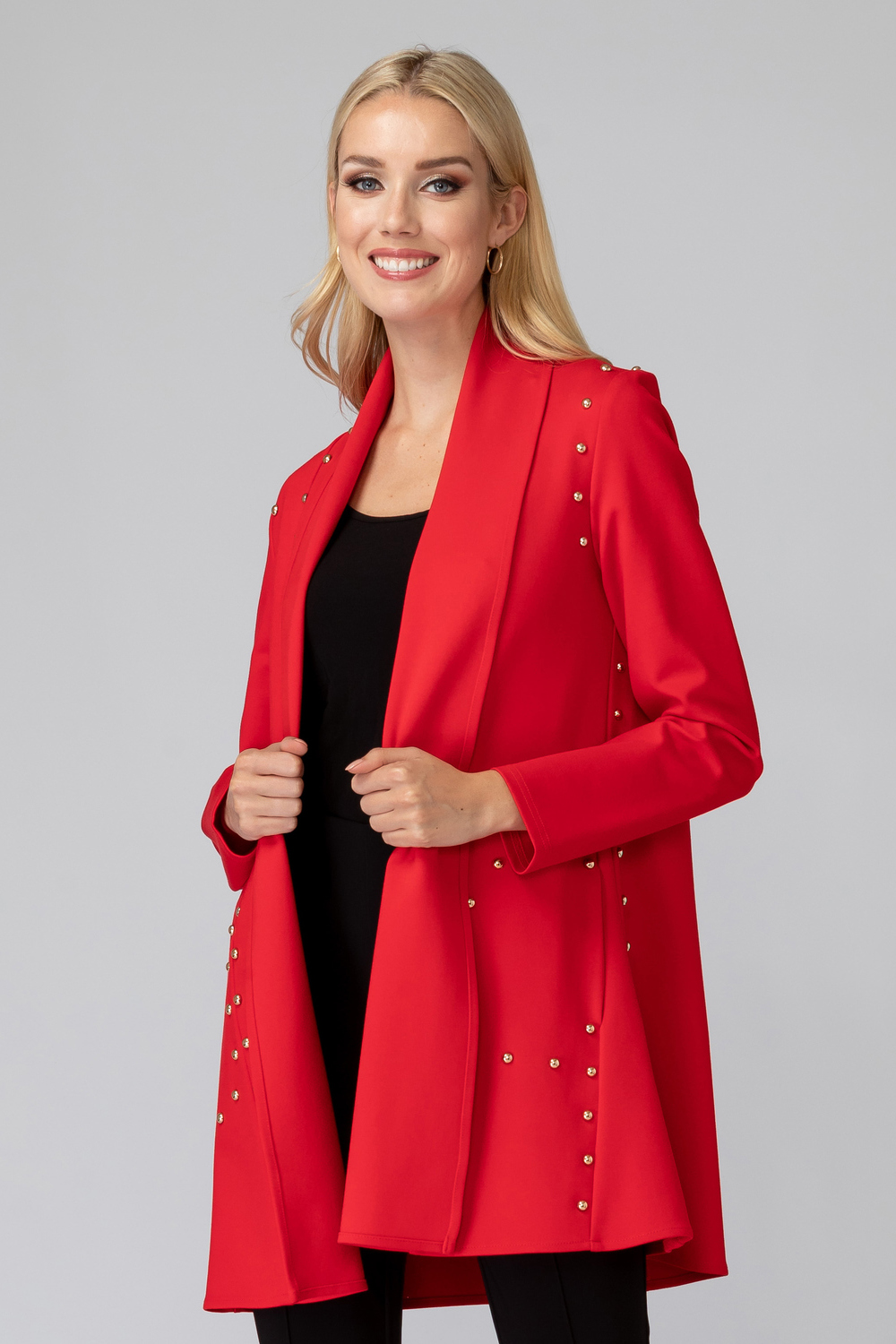 Joseph Ribkoff Cardigans Rouge A Levres 173 Style 193355