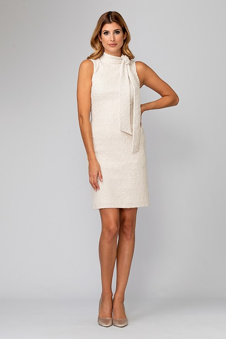 Joseph Ribkoff Beige/Silver Dresses Style 194436
