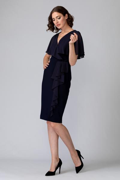 Joseph Ribkoff Robes Bleu Minuit 40 Style 201072
