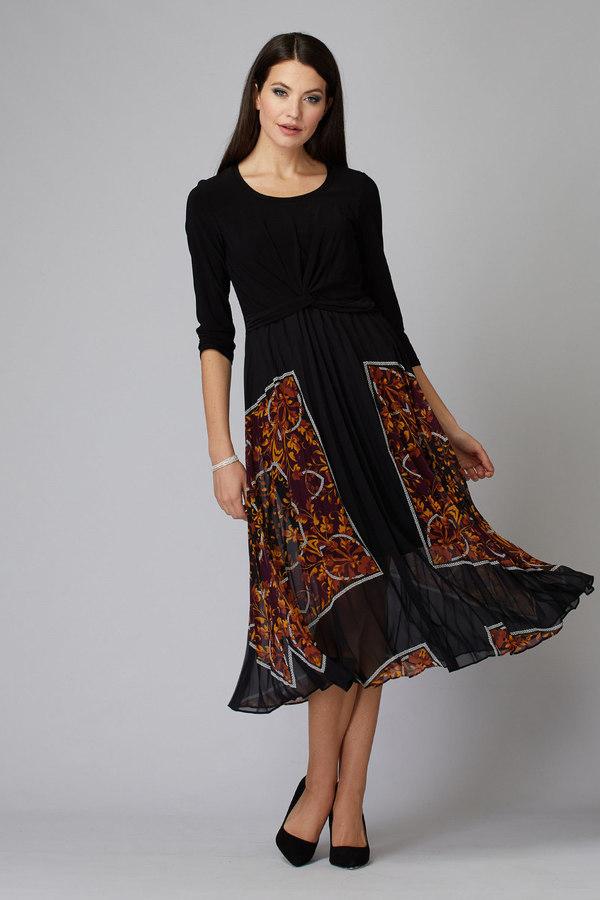Joseph Ribkoff Black/Multi Dresses Style 194624