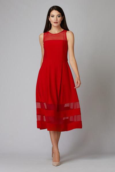 Joseph Ribkoff Lipstick Red 173 Dresses Style 194296