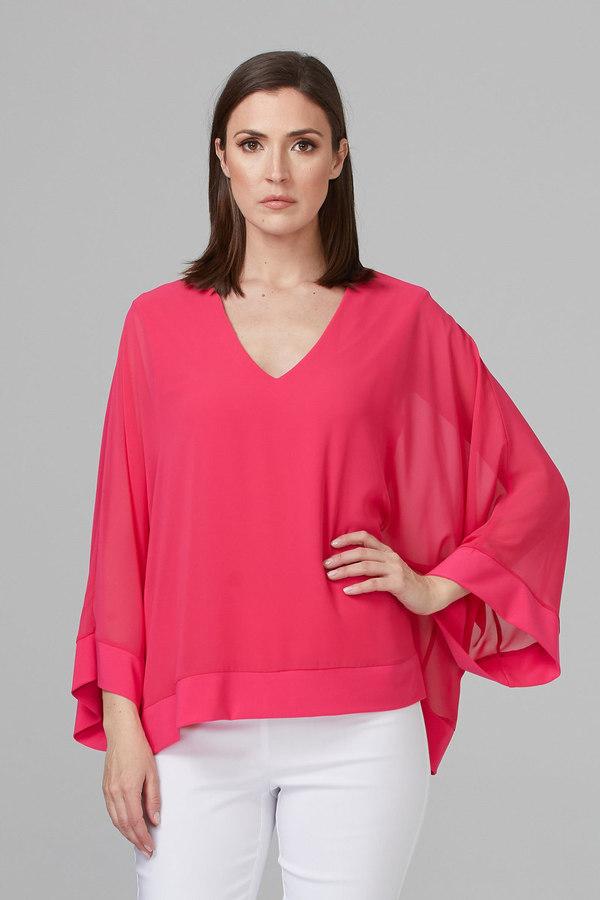 Joseph Ribkoff Chemises et blouses Rose Vif Style 201086