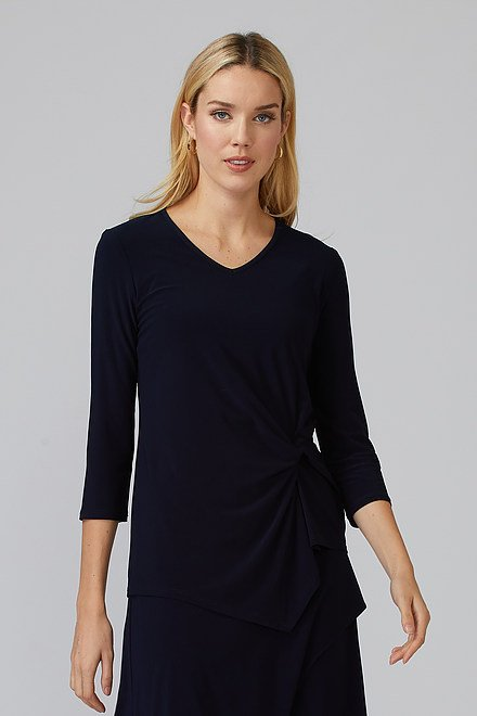 Joseph Ribkoff Tee-shirts et camisoles Bleu Minuit 40 Style 193138