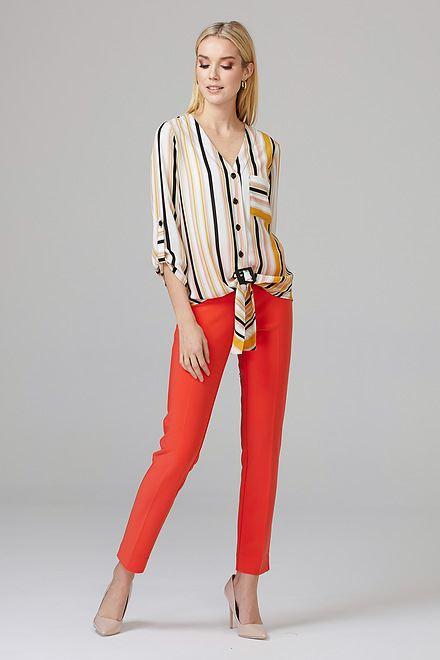 Joseph Ribkoff PAPAYA Pants Style 144092