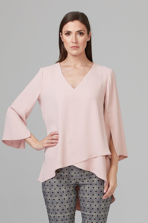Joseph Ribkoff Rose Shirts & Blouses Style 201085