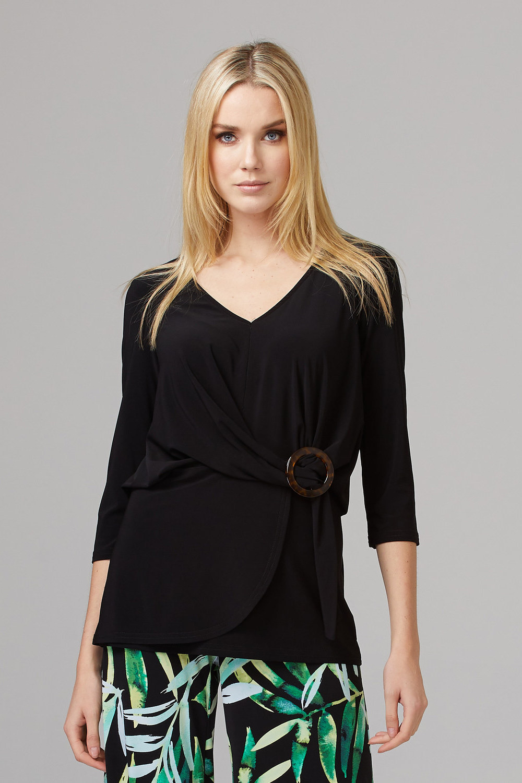 Joseph Ribkoff Tee-shirts et camisoles Noir Style 201299