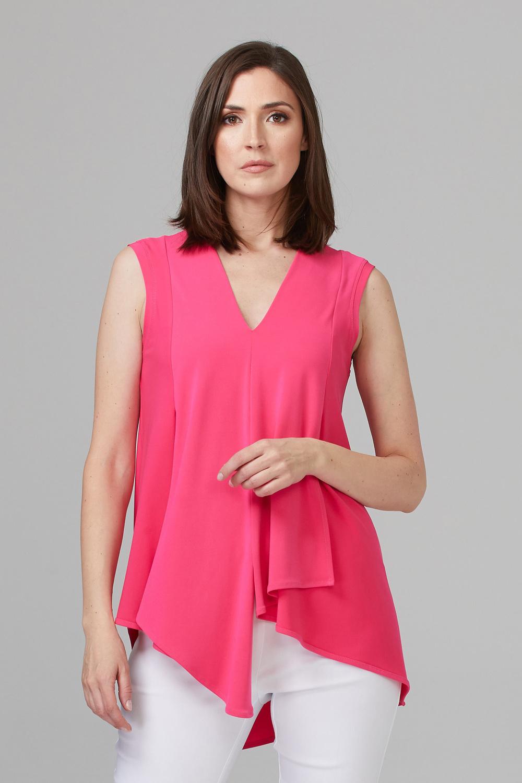 Joseph Ribkoff Tuniques Rose Vif Style 161060