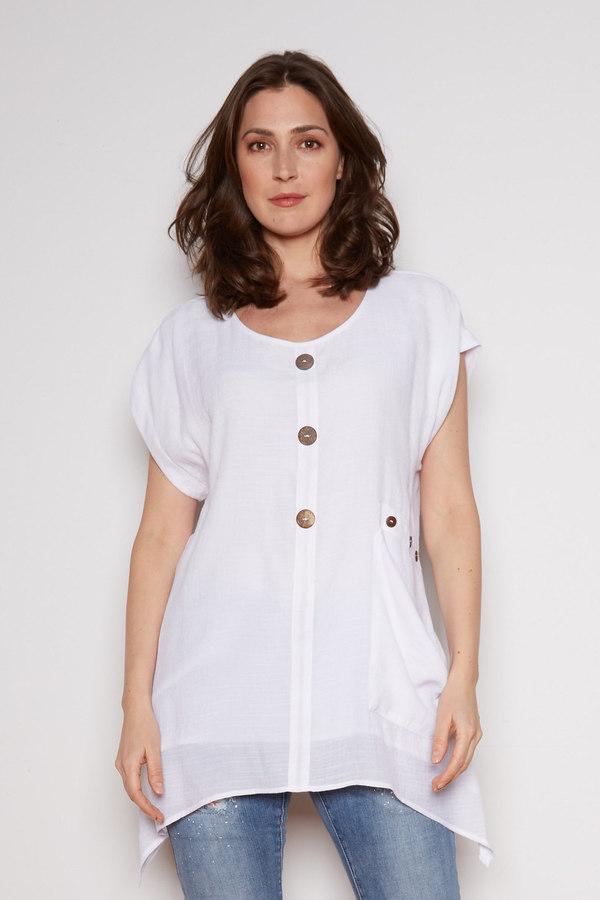 Joseph Ribkoff Tuniques Blanc Style 202003