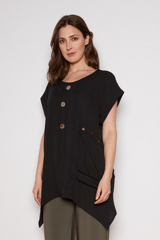 Joseph Ribkoff Black Tunics Style 202003