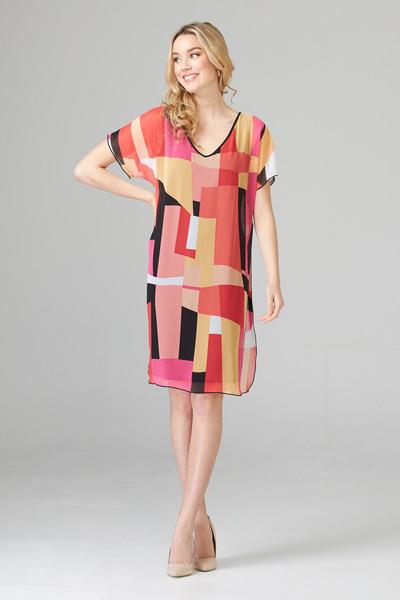 Joseph Ribkoff Black/Multi Dresses Style 202016