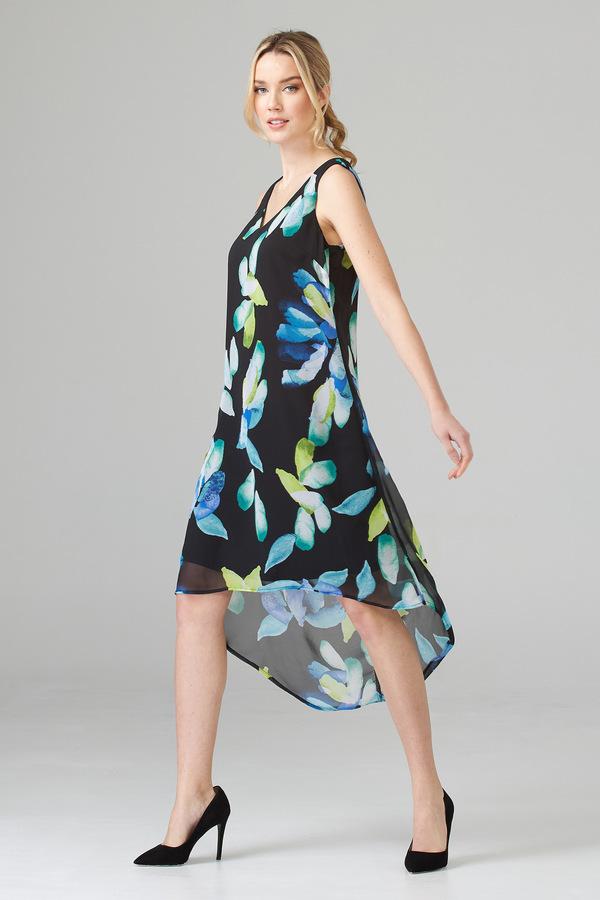 Joseph Ribkoff Black/Multi Dresses Style 202028