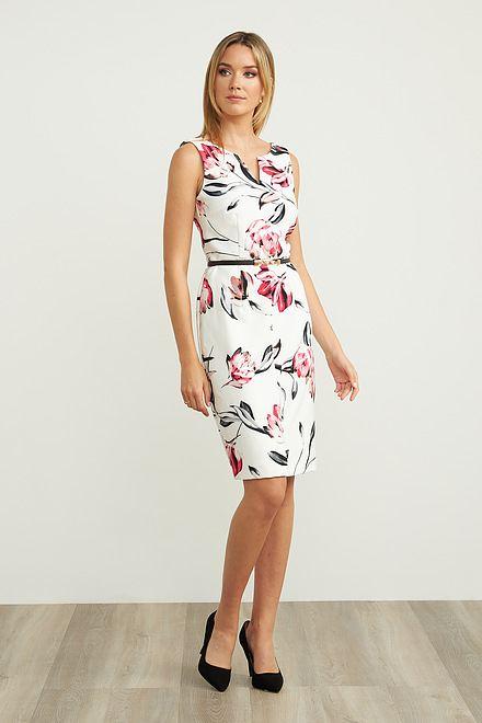 Joseph Ribkoff Offwhite/Multi Dresses Style 202054