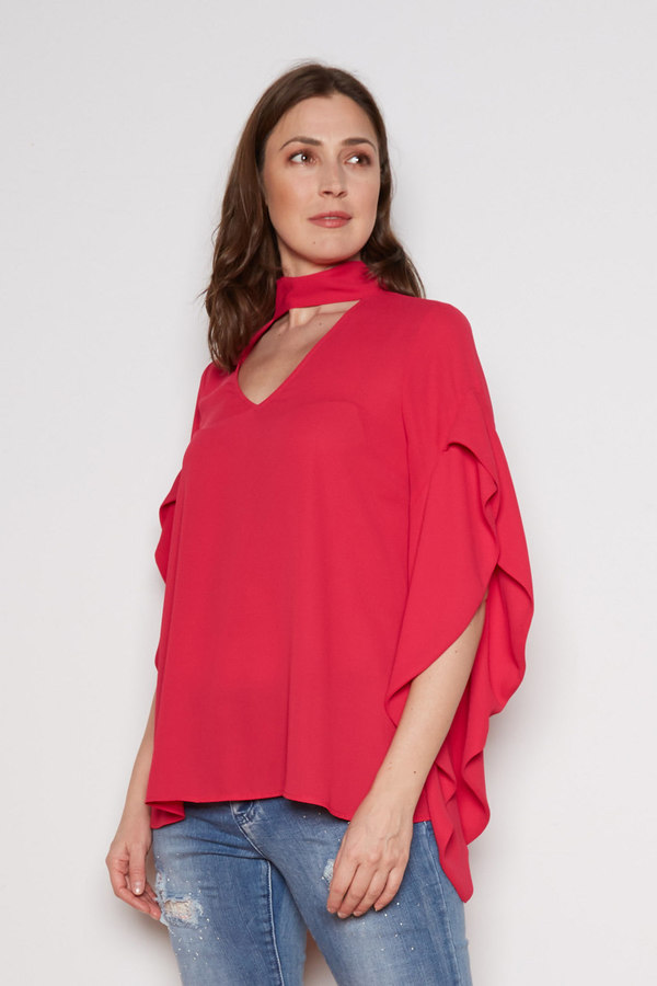 Joseph Ribkoff Cerise Shirts & Blouses Style 202063