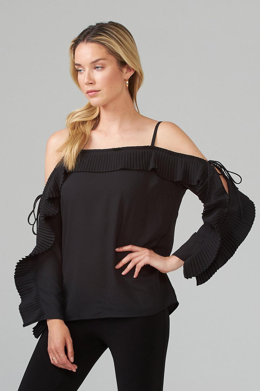 Joseph Ribkoff Black Shirts & Blouses Style 202068