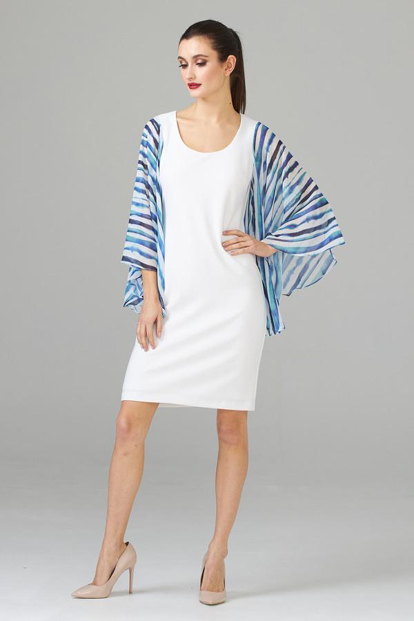 Joseph Ribkoff Robes Blanc/Multi Style 202074