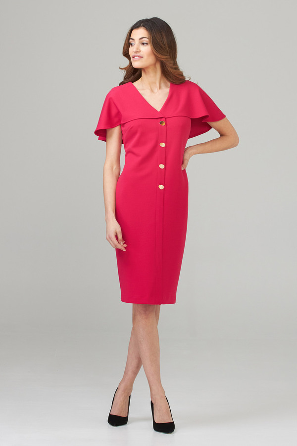 Joseph Ribkoff Cerise Dresses Style 202077