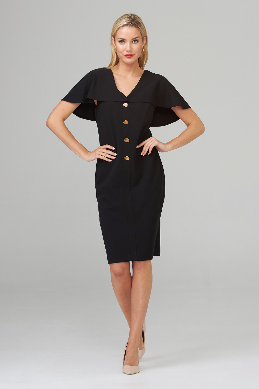 Joseph Ribkoff Black Dresses Style 202077