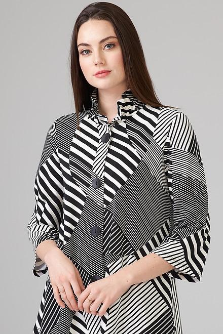 Joseph Ribkoff Black/Off White Jackets Style 202083