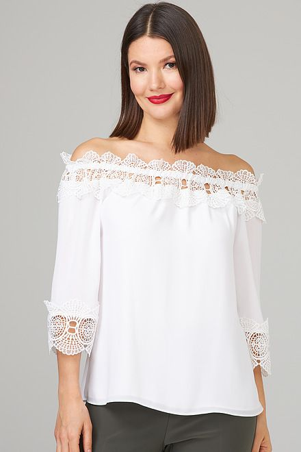 Joseph Ribkoff Chemises et blouses Blanc Cassé Style 202090