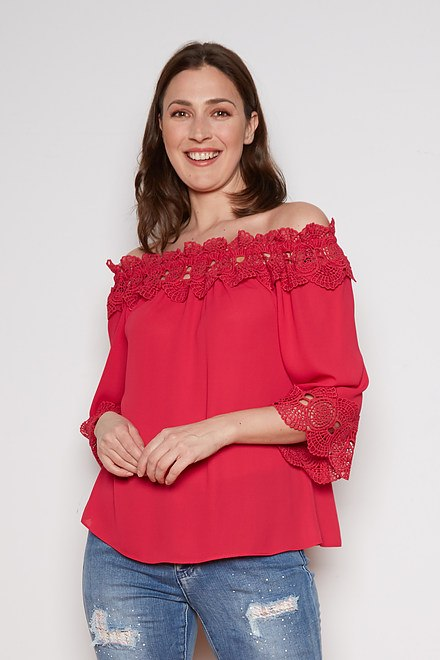 Joseph Ribkoff Chemises et blouses Cerise Style 202090