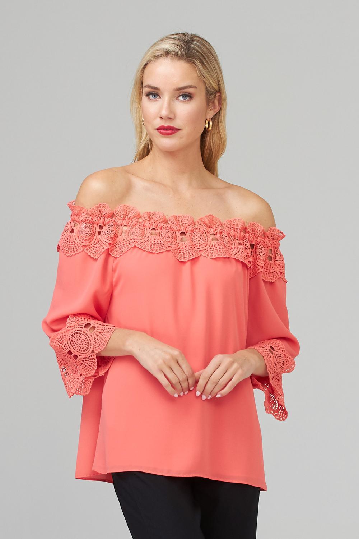 Joseph Ribkoff Chemises et blouses Cantaloupe Style 202090