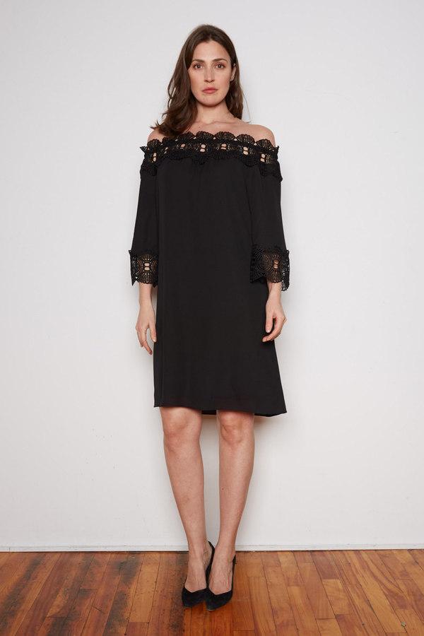 Joseph Ribkoff Robes Noir Style 202091